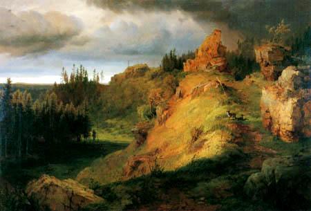 Louis Gurlitt - Landscape of the Giant Mountains