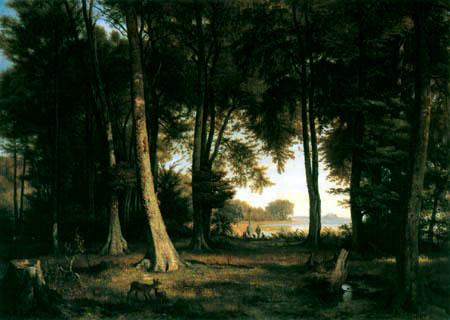 Louis Gurlitt - Waldesinneres