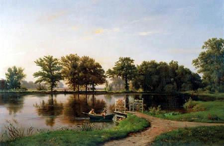 Louis Gurlitt - A boating trip