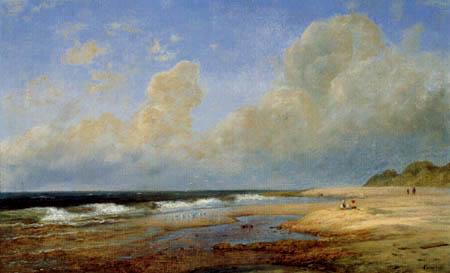 Louis Gurlitt - Meeresstrand auf Sylt