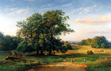 Louis Gurlitt - Ostholsteinische Landschaft