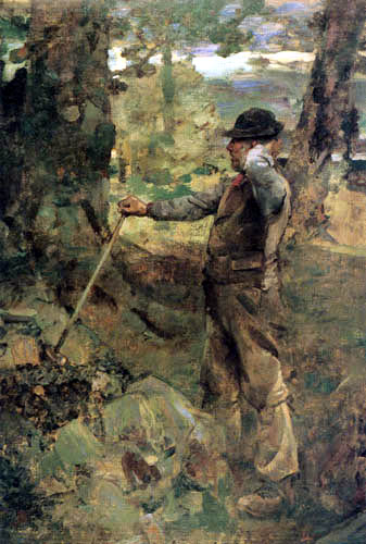 Sir James Guthrie - The Stone Breaker