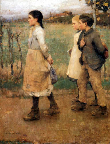 Sir James Guthrie - Schoolmates