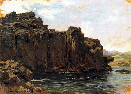 Carlos de Haes - Die Steilküste bei Lequeitio