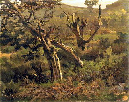 Carlos de Haes - Forest near Alsasua