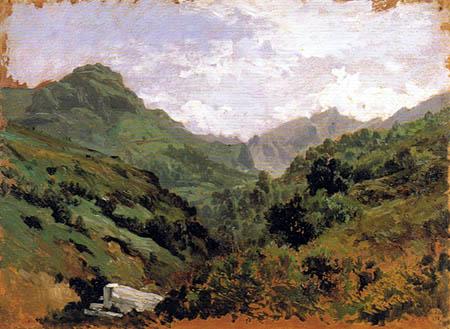 Carlos de Haes - Gorge in the Pajares, Asturias