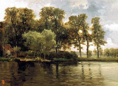 Carlos de Haes - Lake, Netherlands