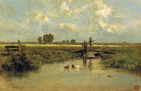 Carlos de Haes - À Frise, Pays-Bas