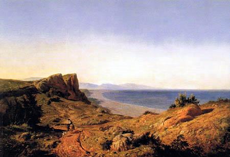 Carlos de Haes - Mediterranean Coast near Torremolinos