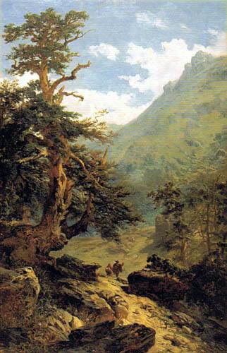 Carlos de Haes - Forest Aisle