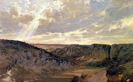 Carlos de Haes - Gebirgsland in Aragón