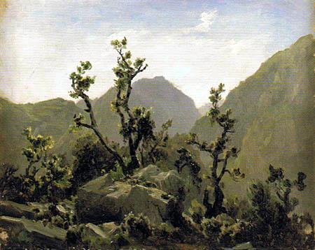 Carlos de Haes - Rocks, Asturias