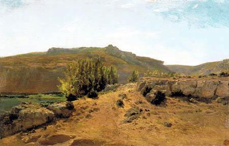 Carlos de Haes - Nuévalos, Aragón