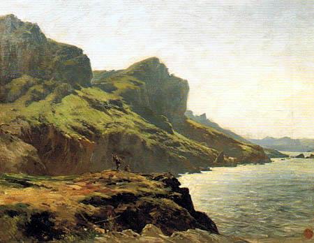 Carlos de Haes - Rocks of Otoya, Lequeitio