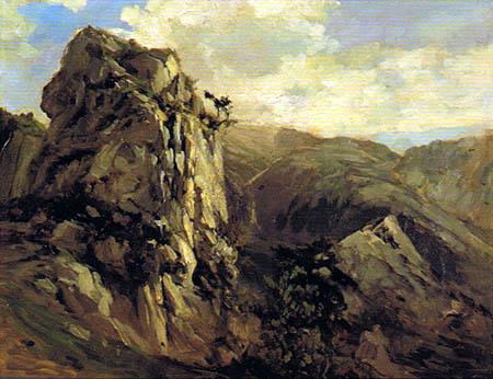 Carlos de Haes - Rochers