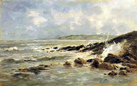 Carlos de Haes - Wave-Breakers, Lequeitio