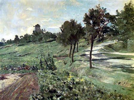 Theodor Hagen - Windmill near Weimar