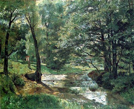 Theodor Hagen - Summerday, Weimar