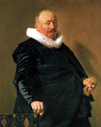 Frans Hals - Porträt eines älteren Mannes
