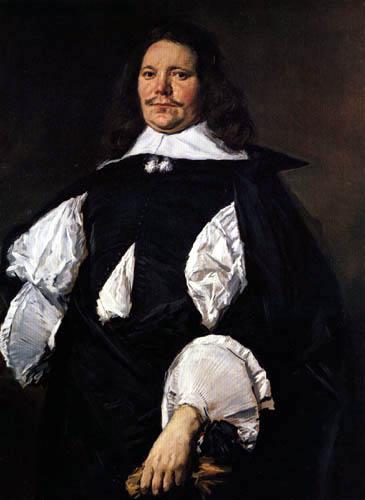 Frans Hals - Porträt eines Mannes