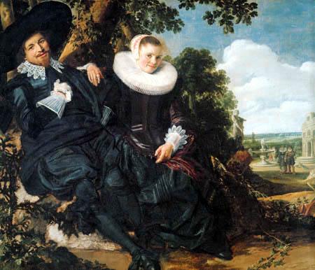 Frans Hals - Isaac Massa und Beatrix van der Laen