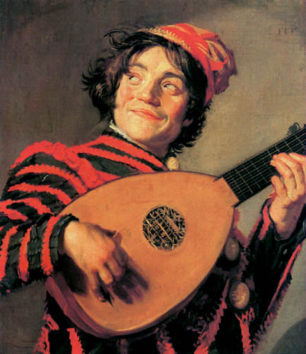Frans Hals - Jester with Lute