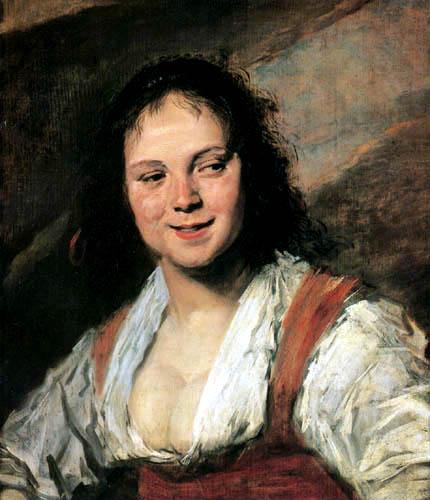 Frans Hals - Die Zigeunerin