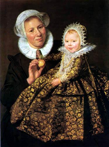 Frans Hals - Mädchen mit Amme