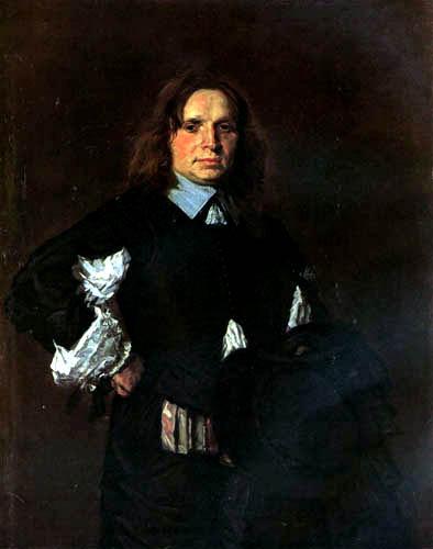 Frans Hals - Bildnis eines Unbekannten