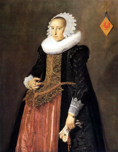 Frans Hals - Aletta Hanemans