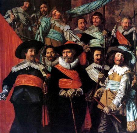 Frans Hals - Offiziere und Unteroffiziere der St. Jorisdoelen