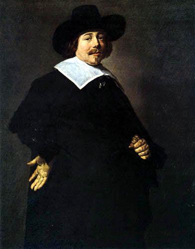 Frans Hals - Bildnis eines Mannes