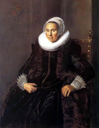 Frans Hals - Cornelia Claesdr Vooght