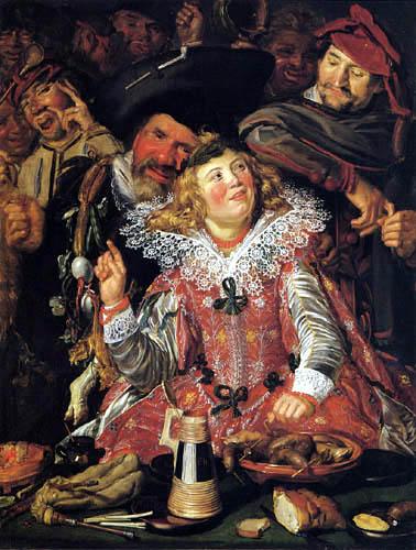 Frans Hals - Die Fastnachtfeier