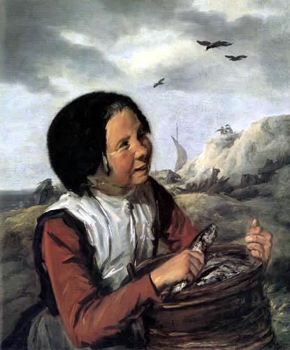 Frans Hals - Ein Fischermädchen
