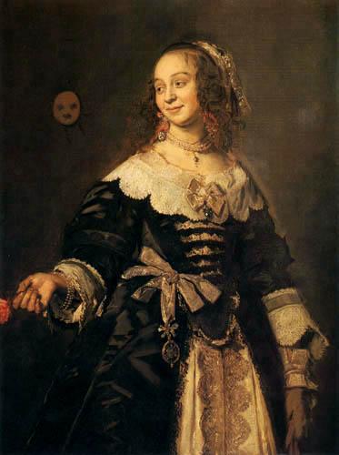 Frans Hals - Isabella Coymans