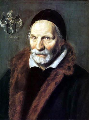 Frans Hals - Jacobus Zaffius