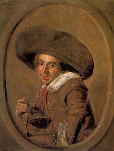 Frans Hals - Junger Mann mit einem grossen Hut