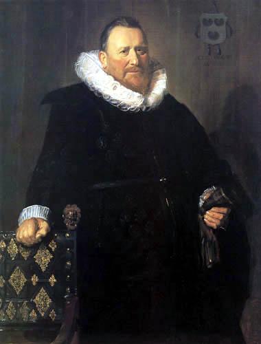 Frans Hals - Nicolaes Woutersz van der Meer