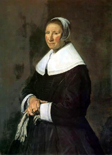 Frans Hals - Porträt einer Dame