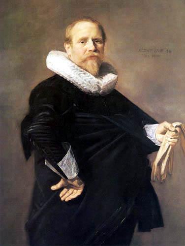 Frans Hals - Porträt eines Herrn