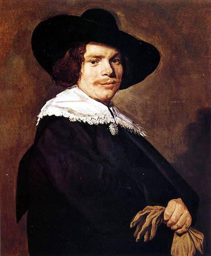 Frans Hals - Porträt eines jungen Herrn