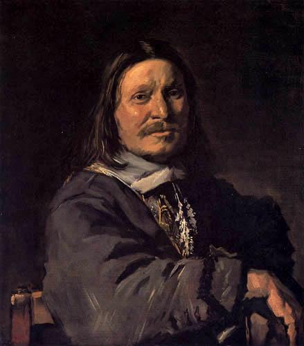 Frans Hals - Bildnis eines sitzenden Mannes