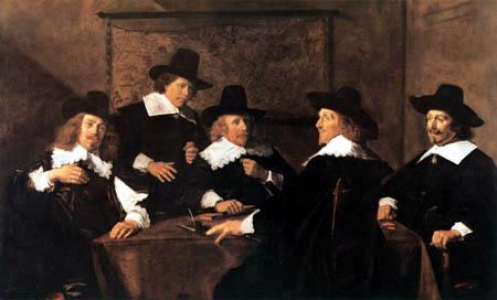 Frans Hals - Die Regenten des St. Elisabeth Krankenhauses von Haarlem