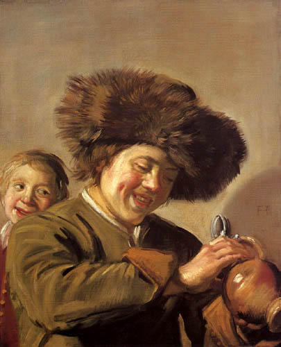 Frans Hals - Zwei lachende Knaben