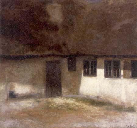 Vilhelm Hammershøi - La ferme