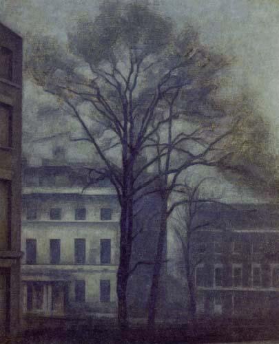 Vilhelm Hammershøi - The Jewish School in the Guilford Street, London
