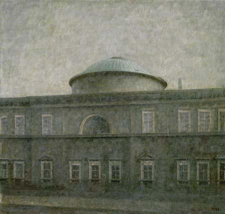 Vilhelm Hammershøi - L'église du château de Copenhague