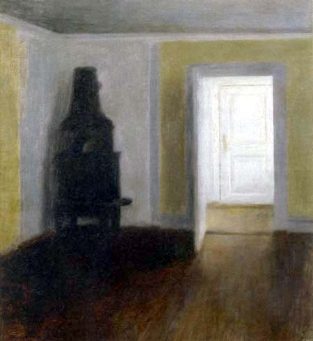 Vilhelm Hammershøi - The White Door