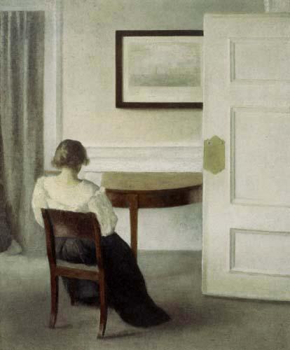 Vilhelm Hammershøi - Interior